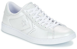 Converse PRO LEATHER LP OX women's Shoes (Trainers) in White