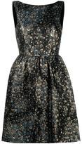 Erdem star jacquard dress
