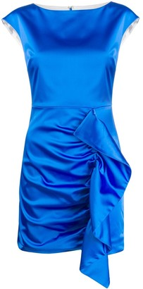 P.A.R.O.S.H. Ruffled Evening Dress