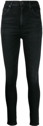Citizens of Humanity Thrill high-rise cropped jeans