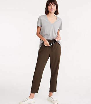 Lou & Grey Silky Twill Drawstring Pants