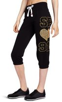 Southpole Juniors Light Weight Roll Up Sweatpant