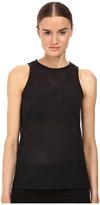 Versace Sleeveless Mesh Logo Tee Women's Swimwear