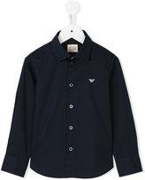 Armani Junior classic shirt - kids - Cotton/Spandex/Elastane - 5 yrs
