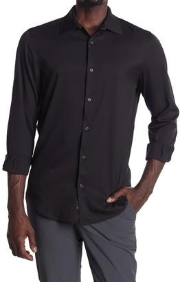 Perry Ellis Long Sleeve Button-Down Shirt