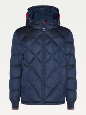 Tommy Hilfiger Big & Tall Diamond Quilted Hooded Jacket