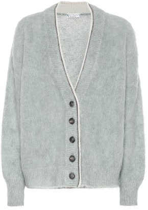 Brunello Cucinelli Wool-blend cardigan