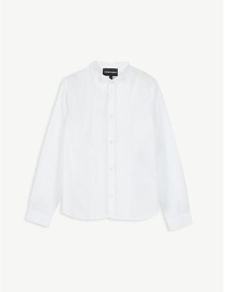 Emporio Armani Cotton tuxedo shirt 4-16 years