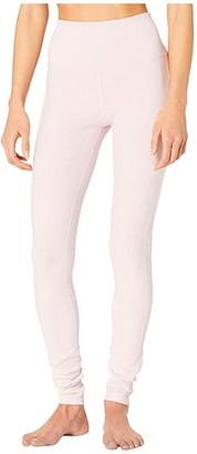 Alo High Waist Lounge Leggings (Black 1) Women's Casual Pants