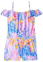 Lilly Pulitzer Emoni Romper Girl's Jumpsuit & Rompers One Piece