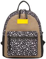 Consigned Jagra Multi Animal Print Backpack Black-Sand