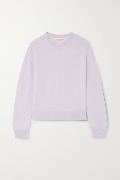 &Daughter Innes Classic Cashmere Sweater - Lilac