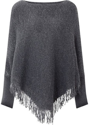 James Lakeland Lurex Poncho