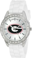 Game Time Women's COL-FRO-GEO Frost College Series Collegiate 3-Hand Analog Watch