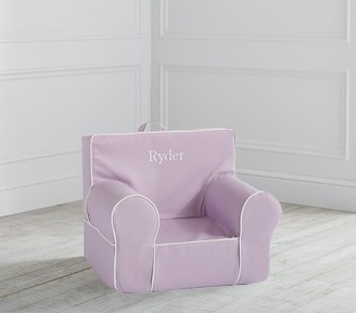 Pottery Barn Kids My First Light Lavender with White Piping Anywhere Chair Slipcover Only