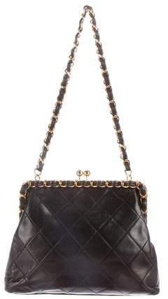 Chanel Quilted Frame Shoulder Bag