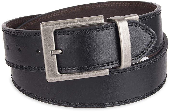 d89df0c0950 Reversible Casual Men's Belt with Double Stitch