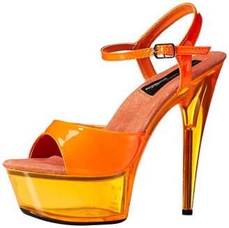 The Highest Heel Women's Glow-101 6 Inch Platform Sandal