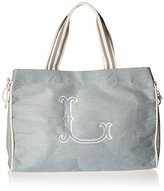 Mud Pie Initia Tote Diaper Bag, Gray