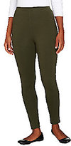Denim & Co. Active Duo-Stretch Leggings with Back Seam
