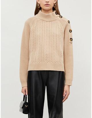 Pinko Hindi stretch-knit jumper