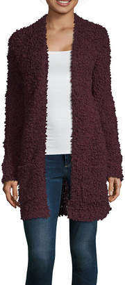 A.N.A Womens Round Neck Long Sleeve Cardigan