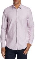 BOSS Lukas Dotted Regular Fit Button-Down Shirt
