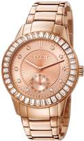 Esprit ES107422003 - Women's Watch, Stainless Steel, Gold Tone rosa