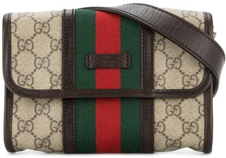 Gucci Pre-Owned GG Shelly line belt bag