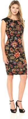Sangria Women's Floral Midi Dress