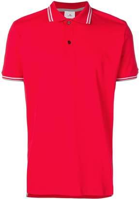 Peuterey contrast striped trim polo shirt