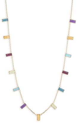 Effy 14K Yellow Gold & Multi-Stone Necklace