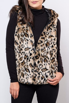 Only Hooded Fur Vest