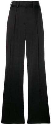 Alexandre Vauthier Satin Suit Trousers