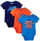 New Balance Bodysuit - Pack of 3 (Baby Boys)