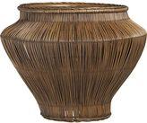 Crate & Barrel Line Low Basket