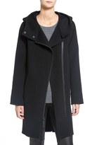 Mackage Women's Asymmetrical Zip Wool Coat