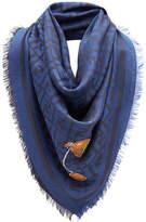 Fendi FF logo print scarf