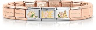 Nomination La Vie en Rose Rose Gold PVD Stainless Steel Bracelet