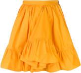MSGM frill hem full skirt