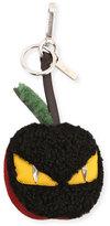 Fendi Monster Eye Apple Charm, Black