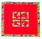 Givenchy Printed Pocket Square