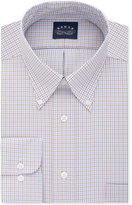 Eagle Men's Classic-Fit Stretch Collar Non-Iron Check Dress Shirt