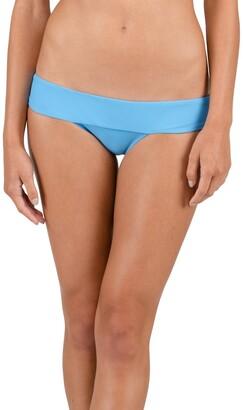 Volcom Women's Simply Solid Modest Bikini Bottom