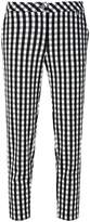 Twin-Set gingham cropped trousers