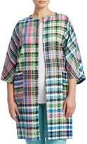 Marina Rinaldi, Plus Size Fase Long Woven Jacket
