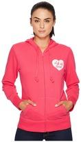 Life is Good Heart Go-To Zip Hoodie Women's Sweatshirt