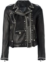Htc Hollywood Trading Company studded biker jacket