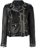 Htc Hollywood Trading Company studded biker jacket