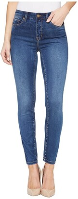 Tribal Five-Pocket Ankle Jegging 28 Dream Jeans in Retro Blue